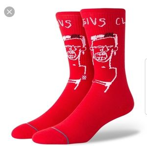 Basquiat socks